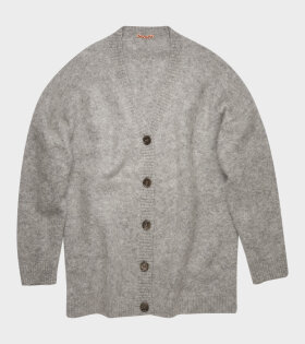 Acne Studios - Kinbar Long Mohair Cardigan Grey