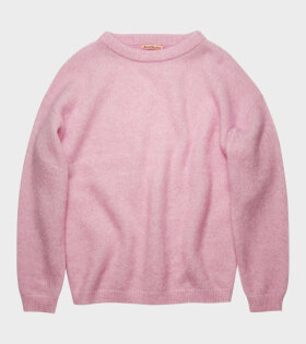 Acne Studios - Dramatic Moh Knit Bubblegum Pink