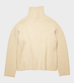 Acne Studios - Kamanda High Neck Knit Oat Beige