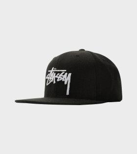 Stüssy - Stock Cap Black