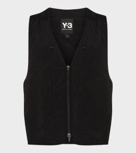 Y-3 - TRVL RV Vest Black