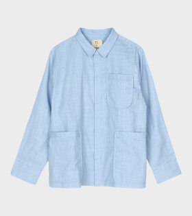 Juna X Peter Jensen - Monochrome Jytte Shirt Light Blue