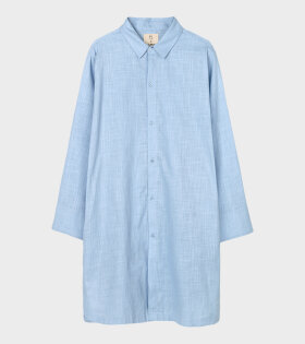 Juna X Peter Jensen - Monochrome Jette Long Shirt Light Blue