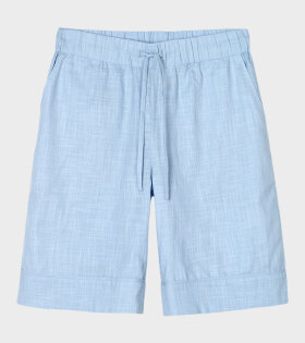 Juna X Peter Jensen - Monochrome Jenda Shorts Light Blue