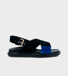Marni - Fussbett Sandal Black