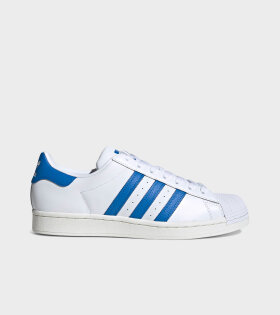 Adidas  - Superstar White/Blue