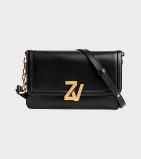 Zadig&Voltaire - ZV Initiale La Clutch Black