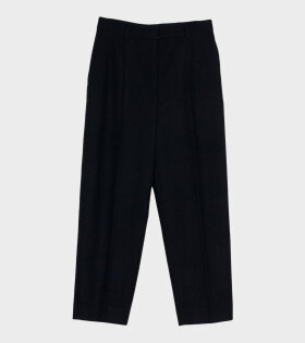 Acne Studios - Tapered Wool-blend Trousers Black