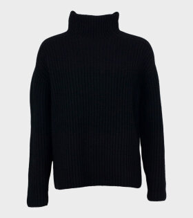 Acne Studios - Kamanda High Neck Knit Black
