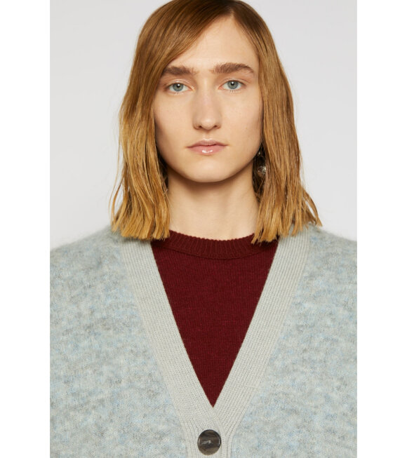 Acne Studios - Rives Mohair Cardigan Grey