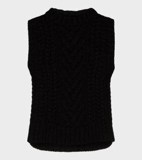 Madelyn Vest Black