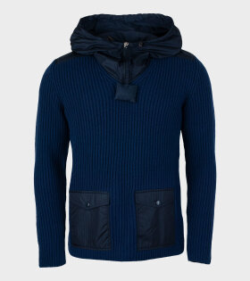 Lupetto Aperto Trico Knit Navy