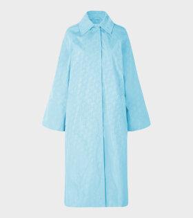 Milan Coat Sky Blue