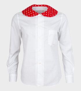 Minnie Dot 1 Shirt White/Red