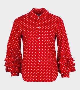Minnie Dot 2 Shirt White/Red