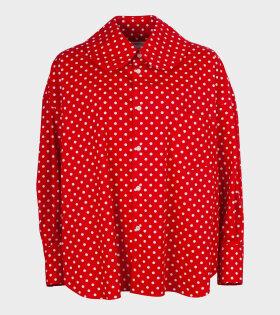 Minnie Dot 3 Shirt Red/White