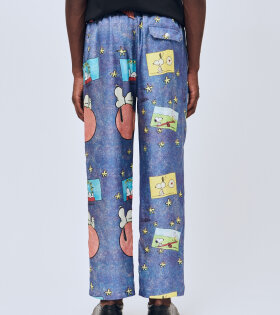 Fadi Pants Blue AOP