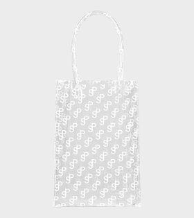 Lap Bag SP Print White