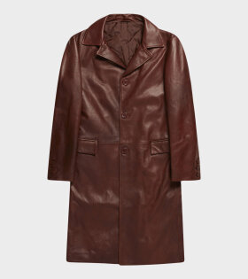 SUNFLOWER - Winter Coat Leather Brown