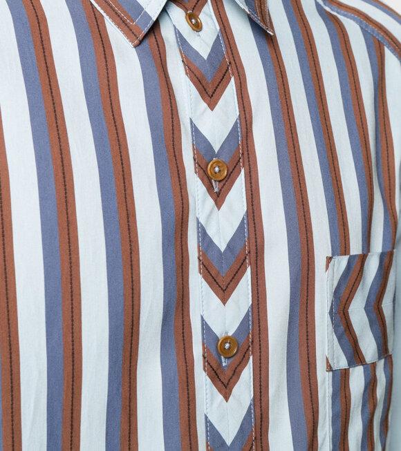 Henrik Vibskov - Sticky Shirt Blue Stripe