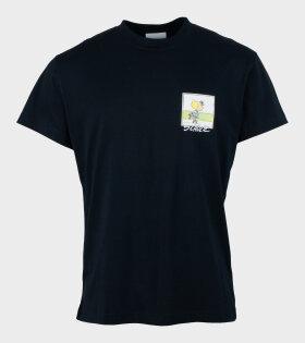 Soulland X Peanuts - Sally T-shirt Black