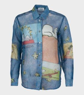 Vivia Shirt Blue AOP