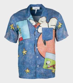 Orson Shirt Blue AOP