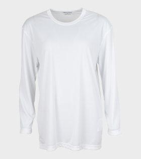 Comme des Garcons - Ladies LS T-shirt White