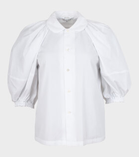 Comme des Garcons - Puffy 3/4 Sleeve Shirt White