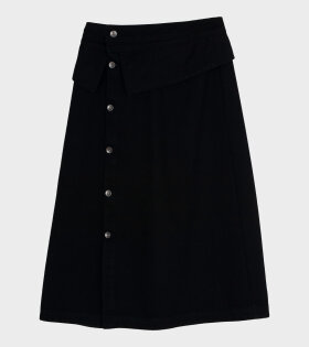 Henrik Vibskov - Shirt Denim Skirt Black
