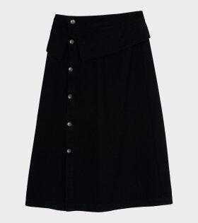 Henrik Vibskov - Shirt Denim Skirt Black