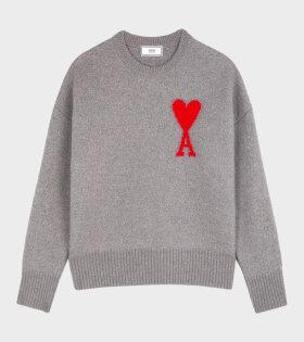 Ami de Coeur Sweater Grey