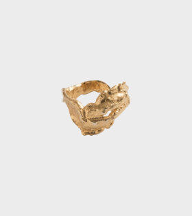 Stella Ring Goldplated
