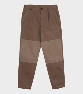 Paul Smith - Panelled Carpenter Pants Brown
