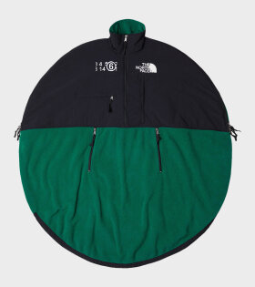 Circle Oversize Fleece Jacket Evergreen