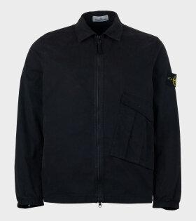 Stone Island - Overshirt Patch Jacket Black