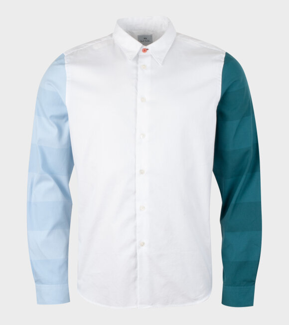 Paul Smith - Mens LS Tailored Fit Shirt White