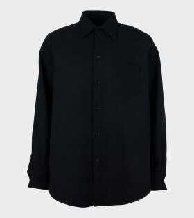 MM6 Maison Margiela - Techwool Shirt Black