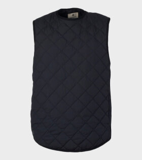 Snow Peak - Recycled NY Ripstop Down Vest Black