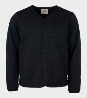Snow Peak - Flexible Insulated Cardigan Black