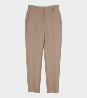 MM6 Maison Margiela - Technowool Trousers Beige