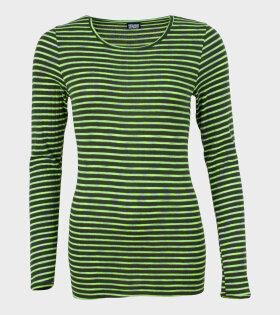 101 Rib Green/Neon/Grey