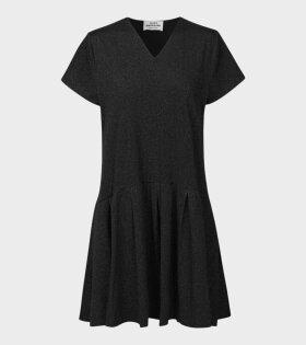 Mads Nørgaard  - Drasmilla Dress Glitter Black