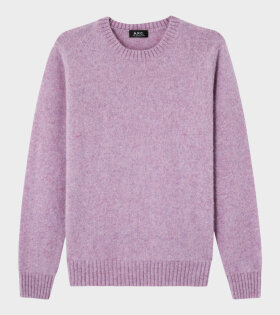 A.P.C - Pull Andre Knit Pink