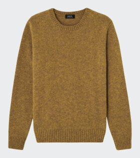 A.P.C - Pull Andre Knit Yellow