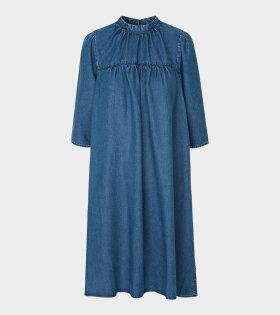 Diddo Deep Dress Indigo