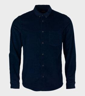 A.P.C - Chemise Serge Shirt Navy