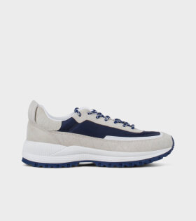 A.P.C - Running Jim Sneakers Navy/Beige