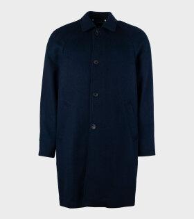 Paul Smith - Mac Unlined Coat Navy