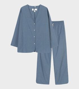 Pyjamas Poplin Ocean